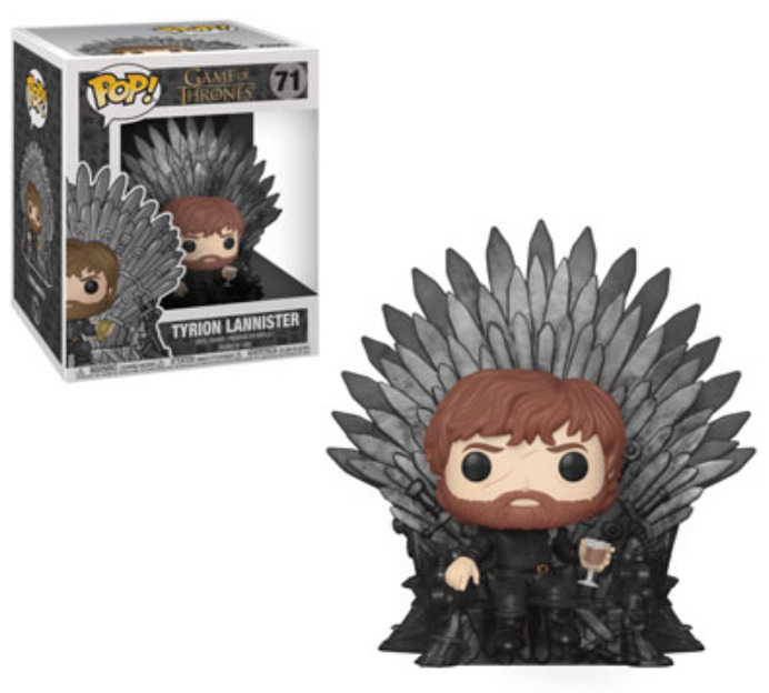 Game of Thrones: Tyrion Lannister (Iron Throne) - Pop! Deluxe Figure image
