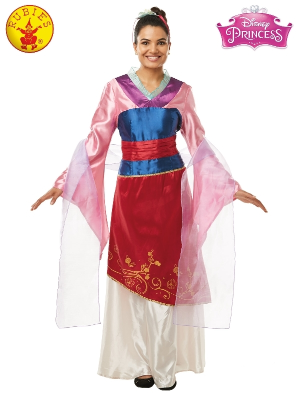 Rubie's: Mulan Deluxe Adult Costume (Small) image