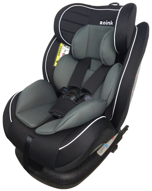 Zoink Baby Car Seat with ISOFIX - Grey