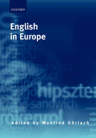 English in Europe by Manfred Gorlach image