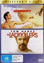 Bruce Almighty/Ladykiller  on DVD