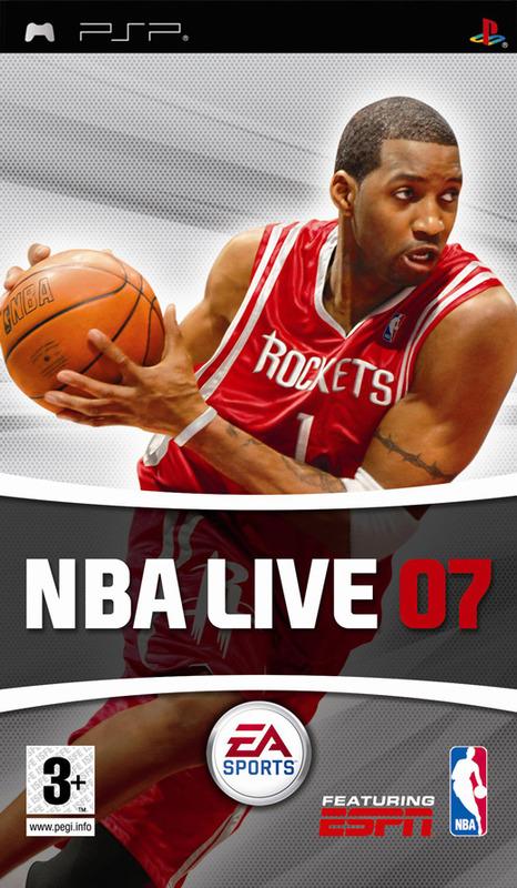 NBA Live 07 for PSP