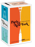 Paris vs New York Postcard Box: 100 Art Postcards by Vahram Muratyan