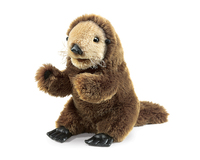 Folkmanis Hand Puppet - Baby Sea Otter
