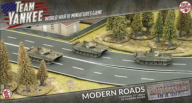 Flames of War: Modern Roads - Terrain Set