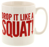McLaggan Smith: Hey! Holla Coffee Mug - Drop it like a Squat