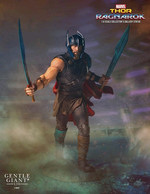 Thor 3: Ragnarok - 1/8 Thor Collector's Gallery Statue