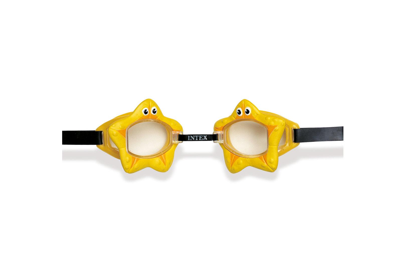 Intex: Fun Goggles - Yellow Starfish image