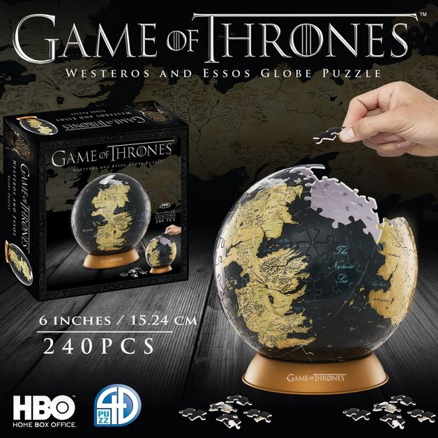 Game of thrones 6 globe puzzle toy at mighty ape australia game of thrones 6 globe puzzle 240pc gumiabroncs Images