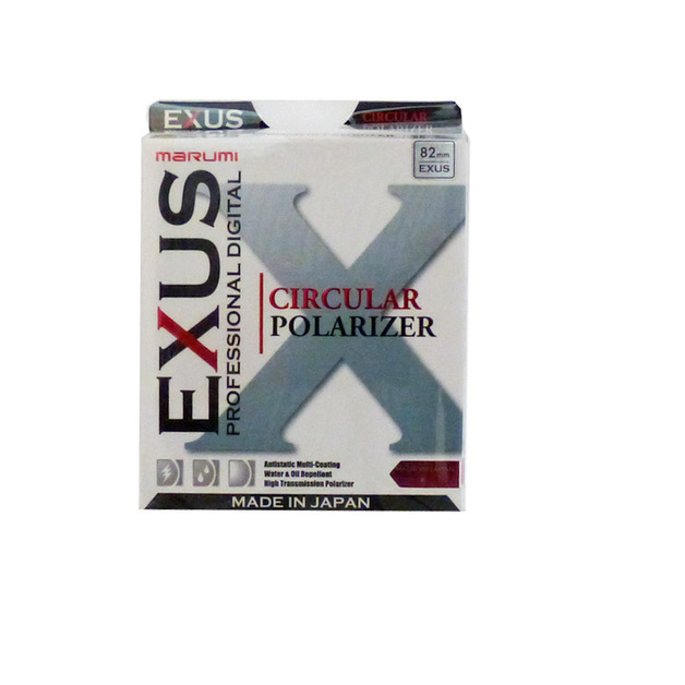 Marumi EXUS Circular Polarising Filter 82mm