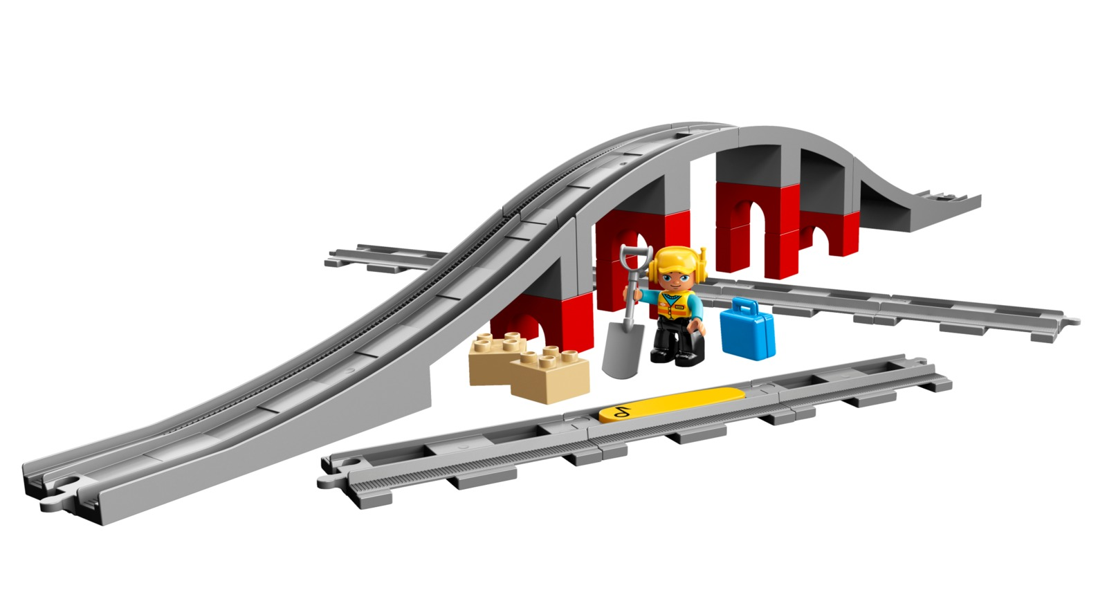 LEGO DUPLO: Train Bridge and Tracks (10872) image