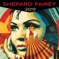 Shepard Fairey 2019 Square Wall Calendar by Shepard Fairey