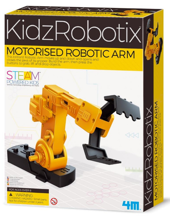 4M: KidzRobotix - Motorised Robotic Arm