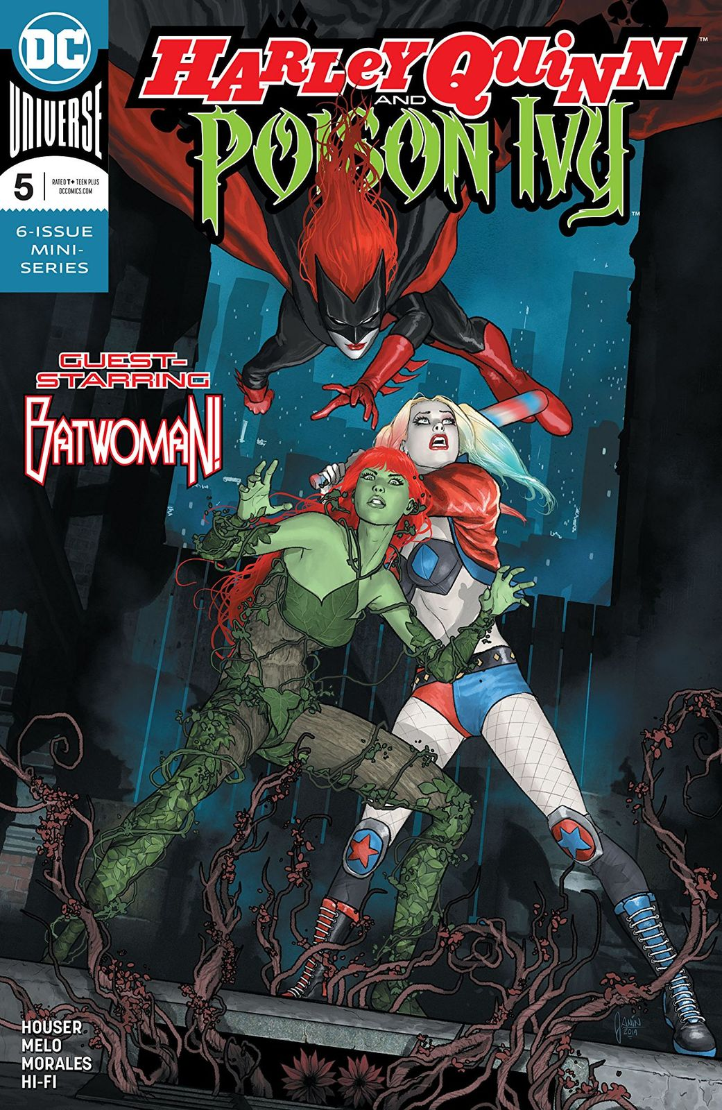 Harley Quinn & Poison Ivy - #5 (Cover A) by Jody Houser image