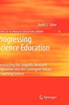 Progressing Science Education by Keith S. Taber image