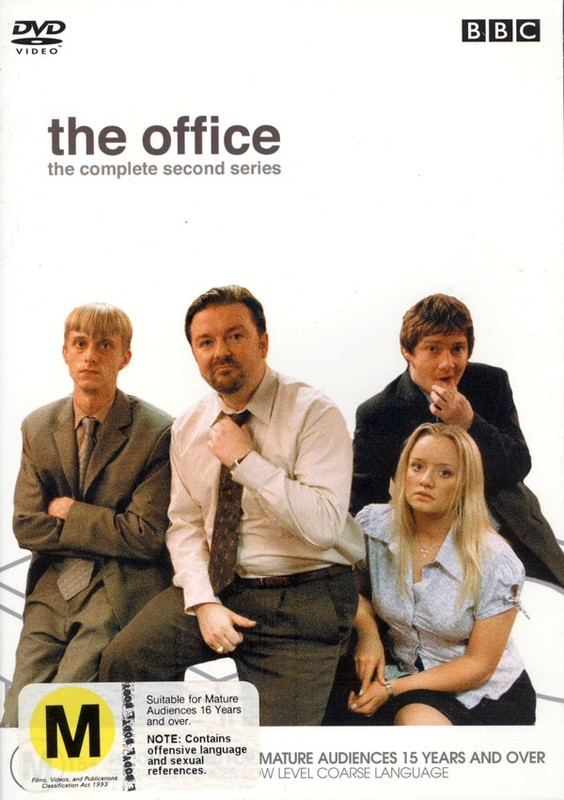 The Office - Complete Series 2 on DVD
