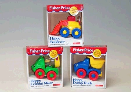 Fisher Price BB Action Vehicles