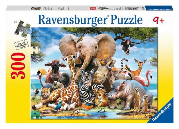 Ravensburger 300 Piece Jigsaw Puzzle - Favourite Wild Animals