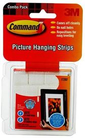 Command Picture Hanging Strips Assorted Combo Pack - White (12 Pack)