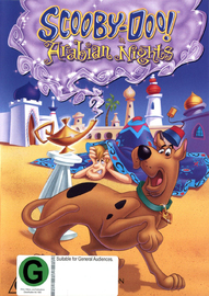 Scooby Doo! In Arabian Nights on DVD image