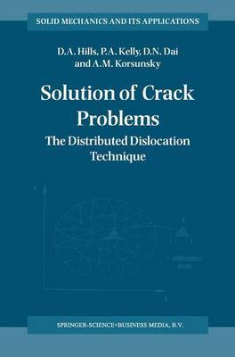 Solution of Crack Problems by D.A. Hills image
