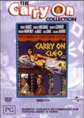 Carry On Cleo on DVD