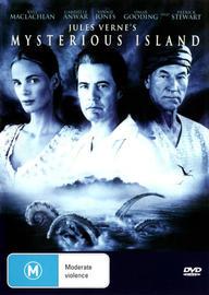 Mysterious Island on DVD