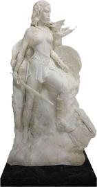 "DC Comics: Wonder Woman (Marble Finish Ver.) - 14"" Fine Art Statue"