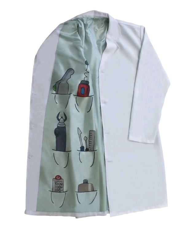 Rick and Morty - Rick Lab Coat Replica