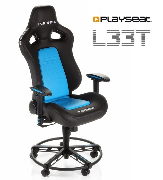 Playseat L33T Gaming Chair - Blue for