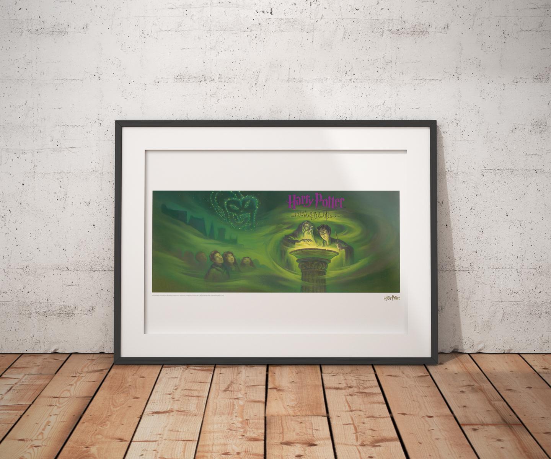Harry Potter: Half Blood Prince - Book Cover Artwork image