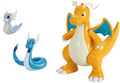 Pokemon Pokepura #30 Dragonite Evolution Set - Model Kit