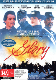 Glory on DVD image