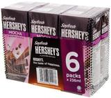 Hershey's Soyfresh Mocha - 236ml (6 Pack)