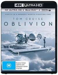 Oblivion on Blu-ray, UHD Blu-ray