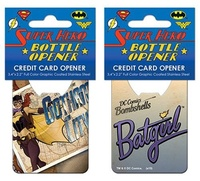 DC Bombshells: Batgirl Cover - Credit Card Bottle Opener