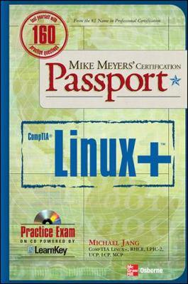 Mike Meyers' Linux+ Certification Passport by Michael Jang image