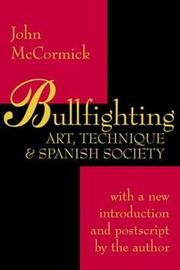 Bullfighting by John McCormick