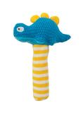 Hand Rattle - Crochet Dinosaur