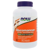 Now Foods Glucomannan 575 mg (180 Caps) image