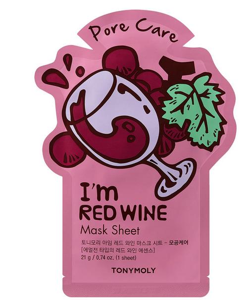 Tony Moly: I'm Red Wine Mask Sheet