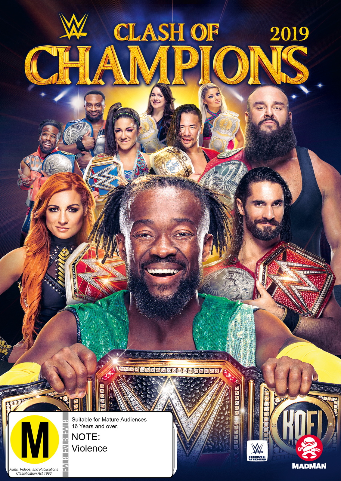 WWE: Clash of Champions 2019 on DVD image