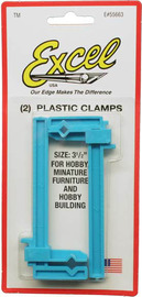 "Excel Small Plastic Bar Clamps 3 1/2""(2pc)"