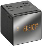 Sony Radio Dual Alarm Clock - Black