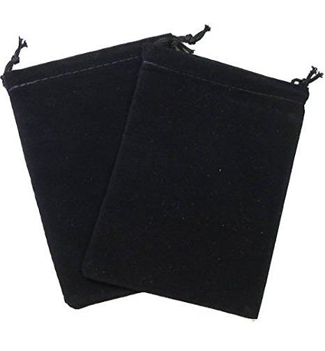Suede Cloth Dice Bag (Small, Black) image