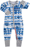 Bonds Zip Wondersuit Long Sleeve - Little Sandy Desert (6-12 Months)