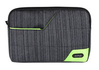 Omp Minerva Series Mini Tablet Sleeve - Grey/Green