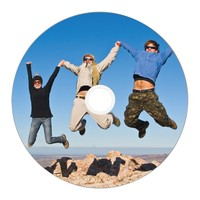 Verbatim BD-R DL 50GB Spindle Wide White Inkjet 6x (25 Pack) image