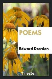 Poems by Edward Dowden image
