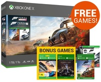 Xbox One X 1TB Forza Horizon 4 Console Bundle for Xbox One image
